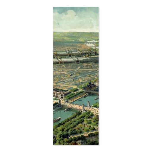 Expo del mundo París 1900 Francia Tarjetas De Visita Mini