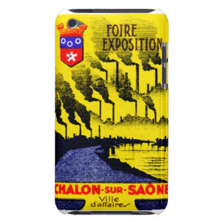 Expo industrial francesa 1920 barely there iPod protectores