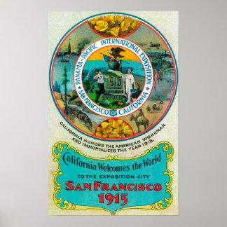 Expo internacional pacífica 2 de Panamá Posters