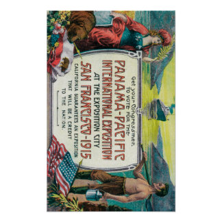 Expo internacional pacífica de Panamá Posters
