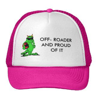 expo_liz, OFF- ROADER AND PROUD OF IT Trucker Hat
