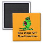 expo_liz, San Diego Off-Road Coalition Magnet