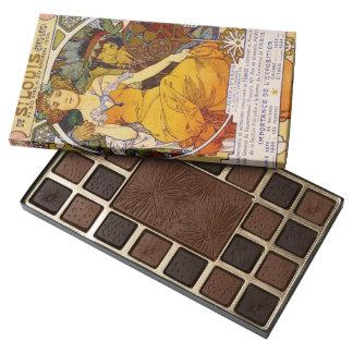 Expo Poster 1904 45 Piece Box Of Chocolates