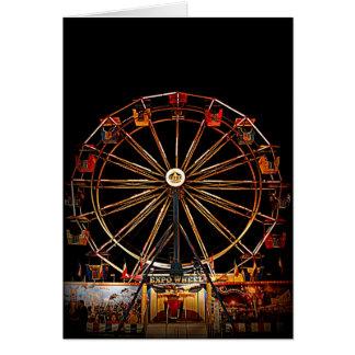 Expo Wheel Card
