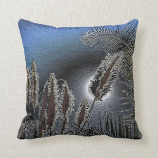 Expose feelings-Blue_ Throw Pillow