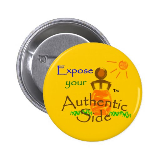 Expose your Authentic Side button