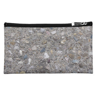 Exposed Aggregate (printed, not made of concrete) Makeup Bags
