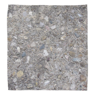 Exposed Aggregate (printed, not made of concrete) Bandana