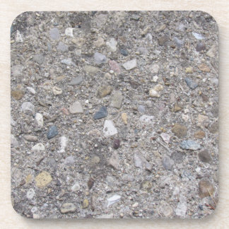 Exposed Aggregate (printed, not made of concrete) Beverage Coaster