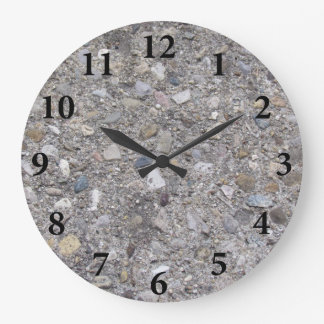 Exposed Aggregate (printed, not made of concrete) Wallclock