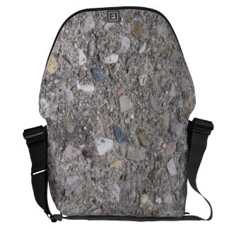 Exposed Aggregate (Printed: not made of concrete) Courier Bag