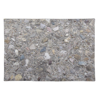Exposed Aggregate (printed, not made of concrete) Placemat