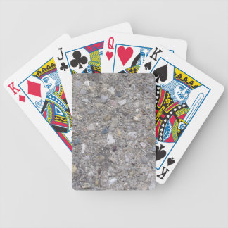 Exposed Aggregate (printed, not made of concrete) Playing Cards
