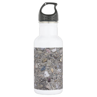 Exposed Aggregate (printed, not made of concrete) Stainless Steel Water Bottle