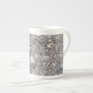 Exposed Aggregate (printed, not made of concrete) Tea Cup