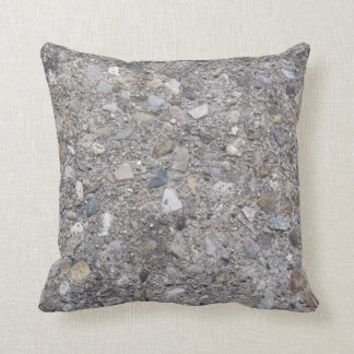 Exposed Aggregate (printed, not made of concrete) Throw Pillow