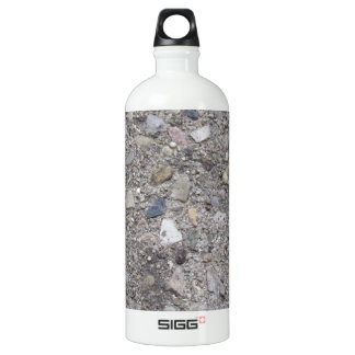 Exposed Aggregate (printed, not made of concrete) Water Bottle