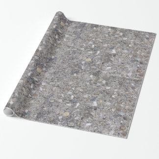 Exposed Aggregate (printed, not made of concrete) Wrapping Paper