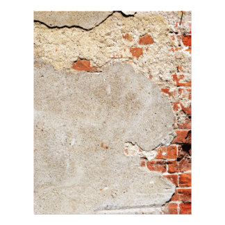 Exposed Brick and Mortar Letterhead
