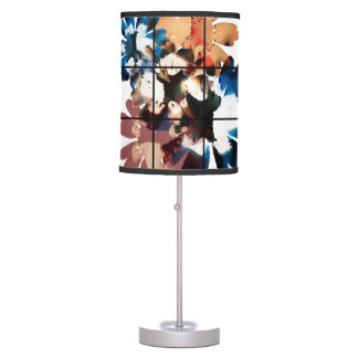 exposed flower desk Lamp
