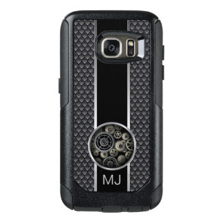 Exposed Gears Industrial Mesh with Monogram OtterBox Samsung Galaxy S7 Case