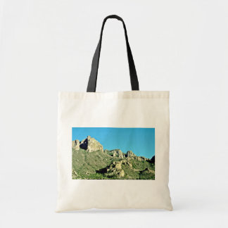 Exposed Rocks And Butte Bags