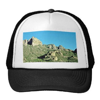 Exposed Rocks And Butte Trucker Hats