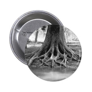 EXPOSED ROOTS 2 INCH ROUND BUTTON