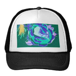 Exposed Skull Design Trucker Hat
