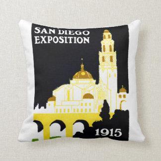 Exposición 1915 de San Diego Cojín