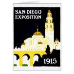 Exposición 1915 de San Diego Felicitación