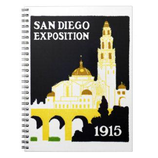 Exposición 1915 de San Diego Libro De Apuntes