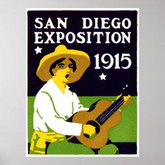 Exposición 1915 de San Diego Posters