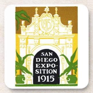 Exposición 1915 de San Diego Posavasos De Bebidas