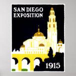 Exposición 1915 de San Diego Poster
