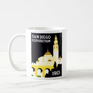 Exposición 1915 de San Diego Taza De Café