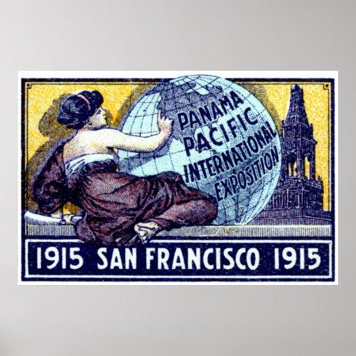 Exposición 1915 de San Francisco Póster
