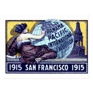 Exposición 1915 de San Francisco Tarjeta Postal