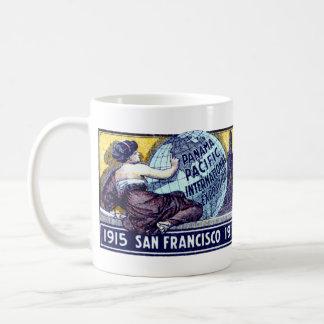 Exposición 1915 de San Francisco Tazas De Café