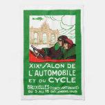 Exposición automotriz 1925 de Bruselas Toalla