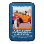 Exposición automotriz 1927 de Bruselas Fundas Para Macbook Air