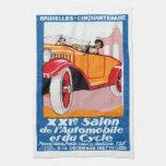 Exposición automotriz 1927 de Bruselas Toallas De Cocina