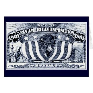 Exposición Cacerola-Americana 1901 Tarjetón