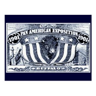 Exposición Cacerola-Americana 1901 Tarjeta Postal