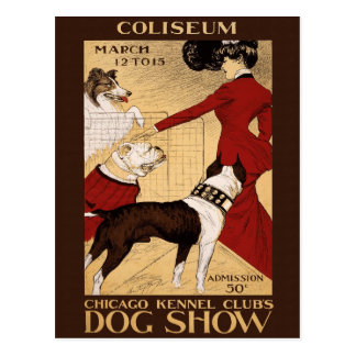 Exposición canina, 1902 tarjetas postales