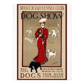 Exposición canina membrete