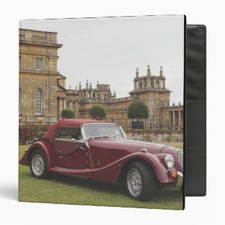 Exposición clásica del coche, palacio de Blenheim