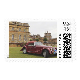 Exposición clásica del coche, palacio de Blenheim Franqueo
