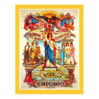 Exposición colombina - postal