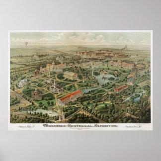 Exposición del Centennial de Tennessee Póster